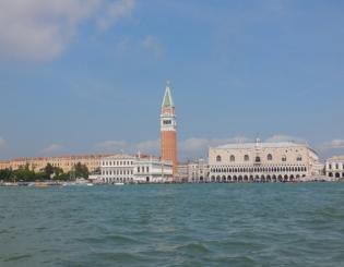 Five go camping in Venice