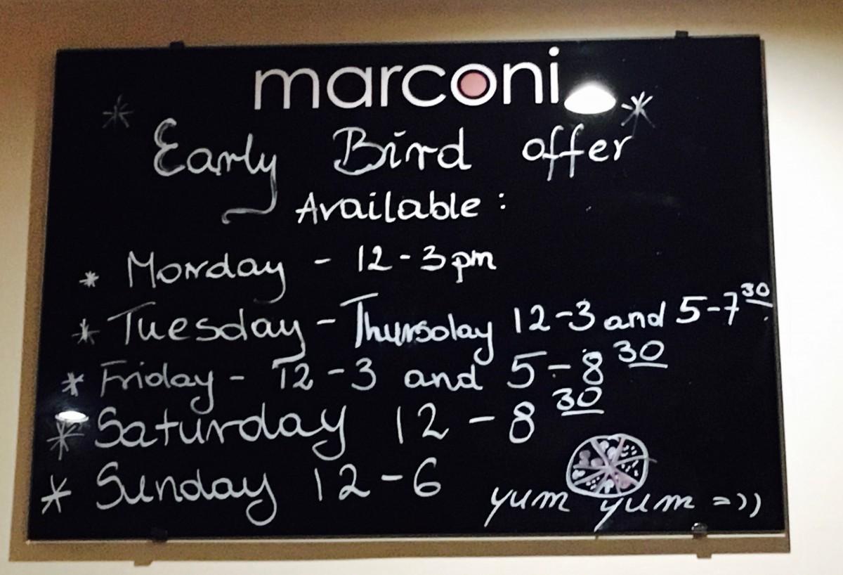 Harrogate Mama, Harrogate Mum, Caffe Marcon, Opening Times