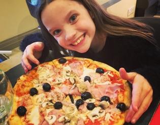 Pizza loving in Harrogate at Caffe Marconi