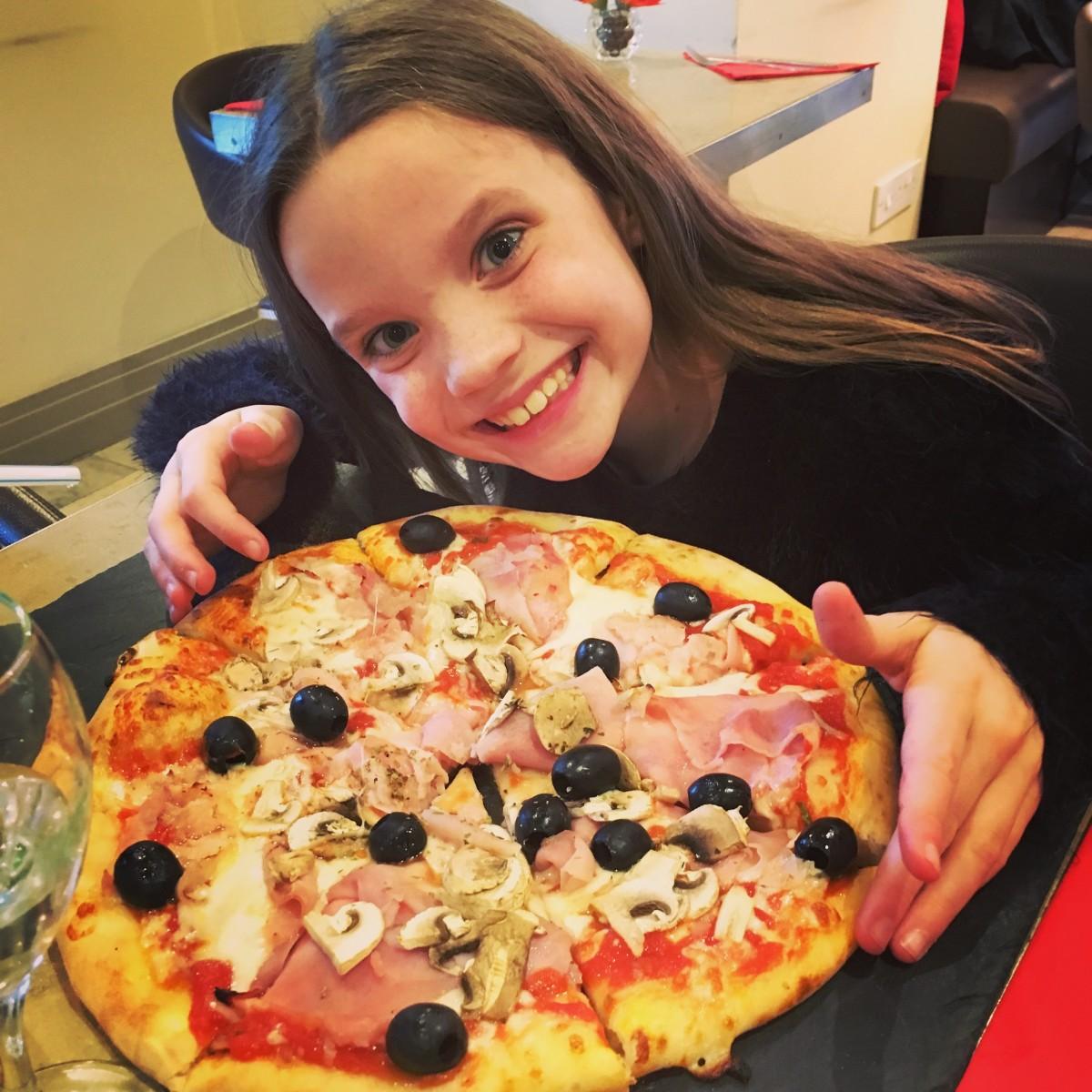 Harrogate Mama, Harrogate Mum, Caffe Marconi, kids pizza