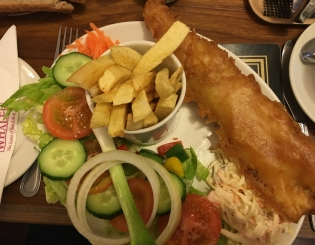 Fish and Chips – Old School Heaven