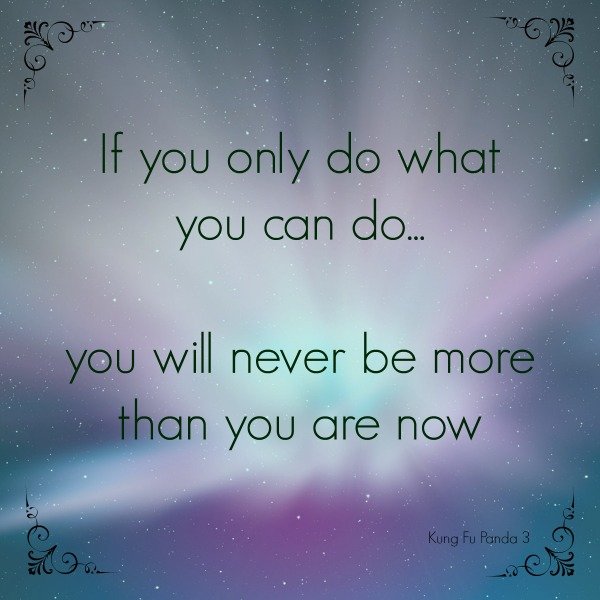 If you only do what you do