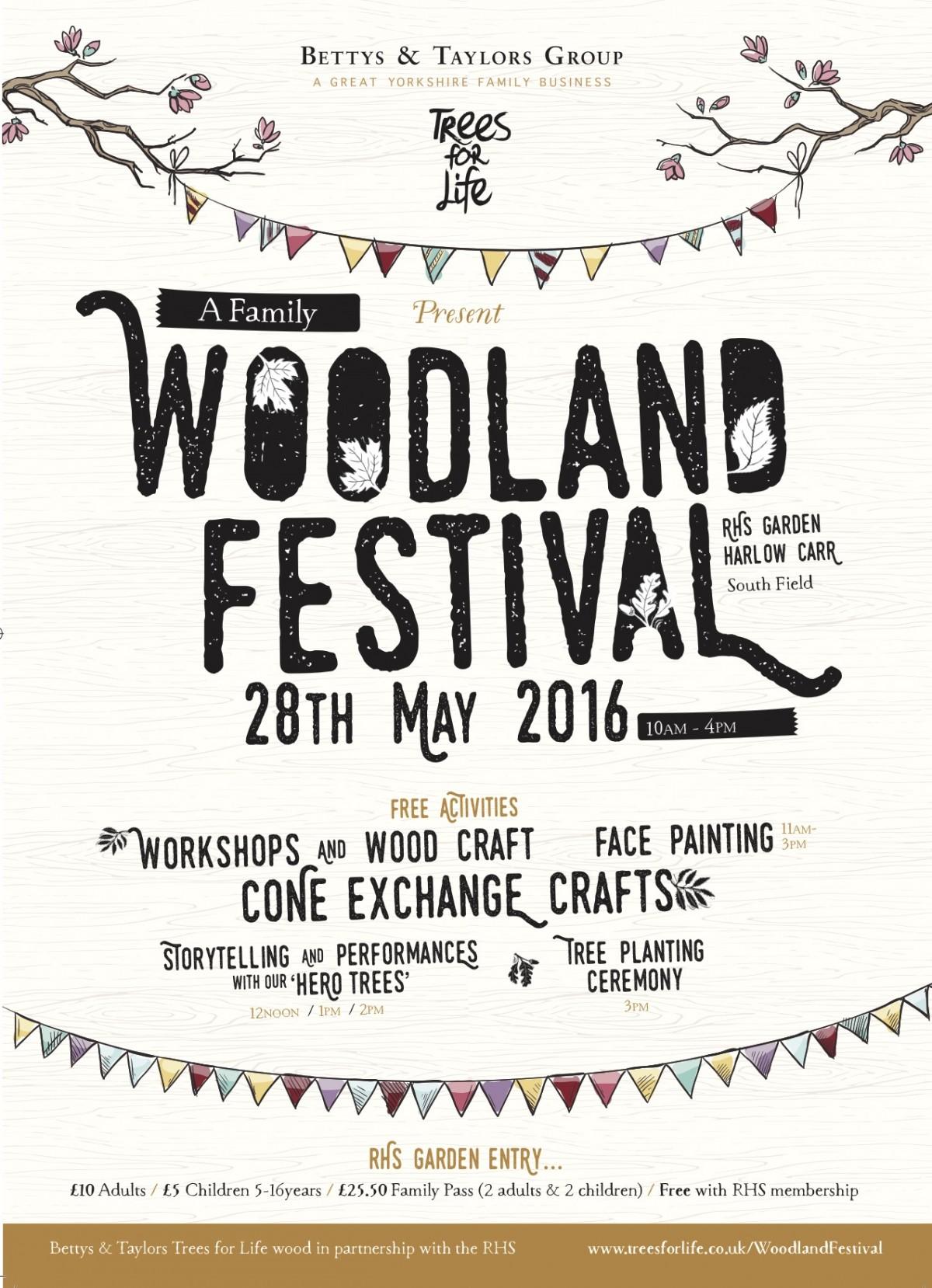 Bettys Woodland Festival for Harrogate Mama Blog