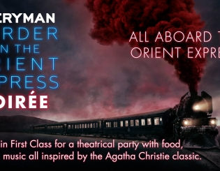 A 'Murder on the Orient Express' Party Invitation from Everyman Cinema
