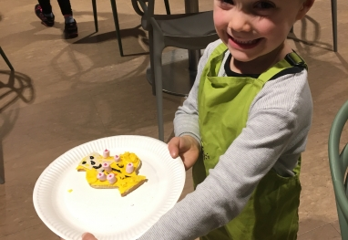 Easter Biscuit Fun at Fodder in Harrogate