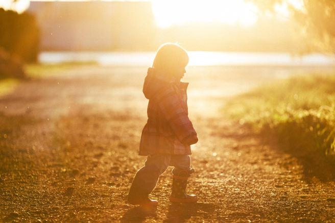 child sun