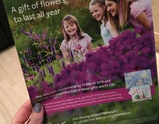 Family modelling for RHS Garden Harlow Carr