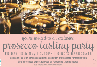 You're Invited to an Exclusive Harrogate Mama Prosecco Party – Friday 18th May!