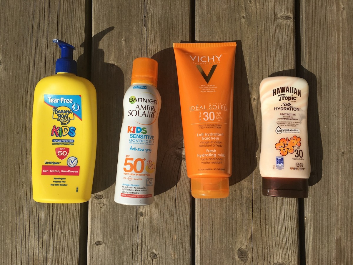 Top four family suncreams