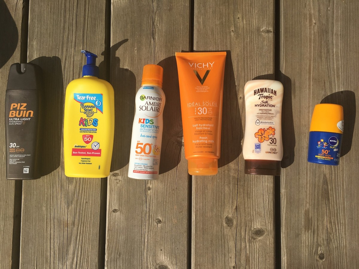 Family Suncreams