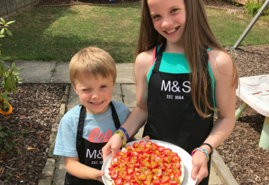 Easy School Holiday Baking with the Smalls