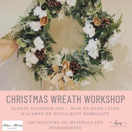 Christmas Wreath Making Workshop Sunday 2nd December 10am