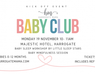 Harrogate Mama Baby Club – KICK OFF EVENT DATE REVEALED