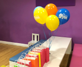 The Small Boy's Birthday Party at The Little Gym, Harrogate