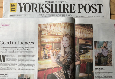 Yorkshire Post – My Christmas Fashion Shoot